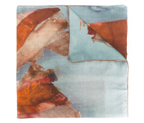 - watercolour scarf - men - Modal/Schurwolle