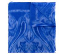 Kaschmir-Schal mit Muster-Print