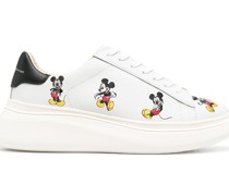 Sneakers mit Micky-Maus-Print