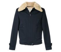 furry collar jacket