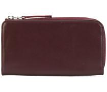 classic zip-around wallet