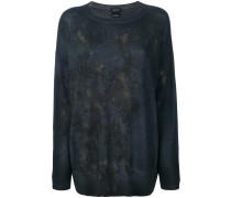 Schmaler Pullover mit abstraktem Muster