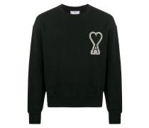 Sweatshirt mit Oversized-Patch