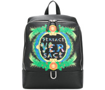 Beverly Palm print backpack