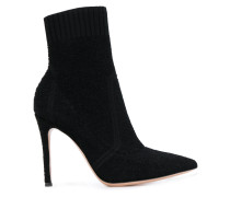 stiletto ankle sock boots