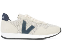 panelled design sneakers