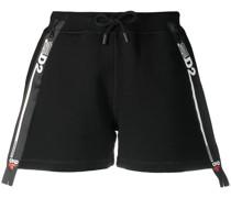 Shorts mit Logo-Tape