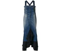 Gerüschtes Jeanskleid