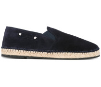 Espadrilles mit Logo-Patch - men