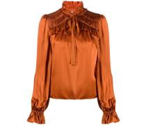 'Birdie' Bluse mit Rüschen