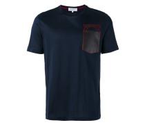 T-Shirt mit Kontrasttasche - men - Baumwolle - L