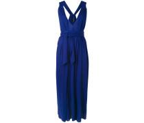Mittellanges Kleid mit Raffung
