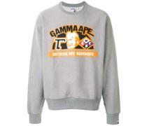 A BATHING APE® 'Gamma Ape' Sweatshirt