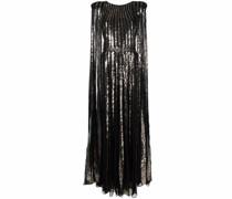 Cape-Kleid mit Pailletten