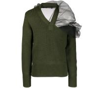 Pullover mit Tülleinsatz