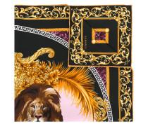Leo print scarf