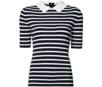 Breton stripe collar top