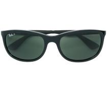 Sonnenbrille mit eckigen Gläsern