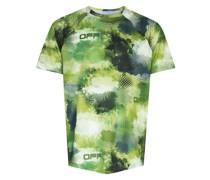 Active T-Shirt mit Camouflage-Print