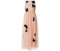 tulle bird appliqué dress
