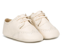 lace-up crib shoes