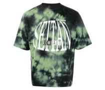 'Seitan' T-Shirt mit Batikmuster