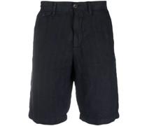 Halbhohe Chino-Shorts mit Streifen