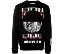 Sweatshirt mit Tribal-Print