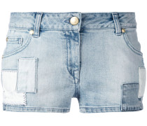 Jeans-Shorts mit Patches - women