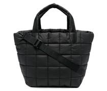 Große Handtasche mit Steppung