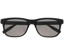 Eckige MB0163S Sonnenbrille
