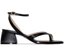 Sandalen mit eckiger Spitze 45mm