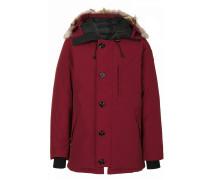hood trim down coat
