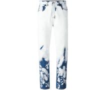 Handgebleichte Jeans