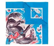 Schal mit Western-Print