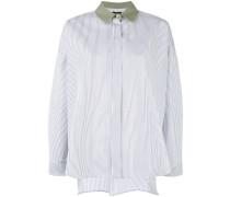 Gestreiftes Hemd - women - Baumwolle - 40