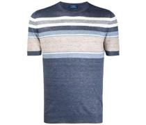 Gestreiftes T-Shirt aus Leinen