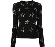 'Star' Intarsien-Pullover