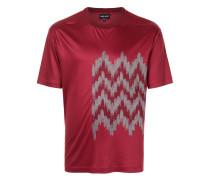 T-Shirt mit Jacquard-Detail