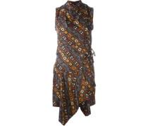 'Tabby' Wickelkleid aus Seide - women - Seide