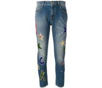 P.A.R.O.S.H. Jeans mit Applikationen