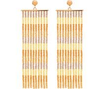 'Les Rideaux' Ohrringe mit Perlen