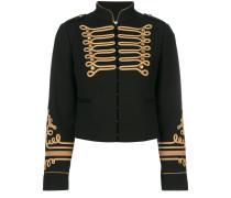 Cropped-Jacke im Military-Look