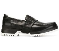 Loafer mit Reißverschlussdetails