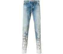 Jeans mit Farbspritzer