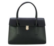 Klassische Handtasche mit Clipverschluss