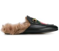 Loafer mit Rosen-Verzierungen