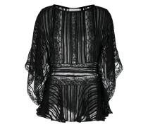 lace kaftan blouse