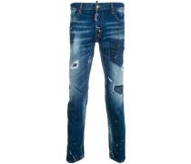City biker jeans