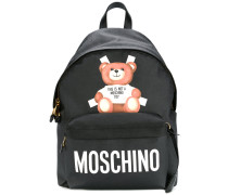 teddy bear paper cut out backpack